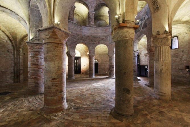 Interno della Rotonda (foto Daniele Pontiroli)