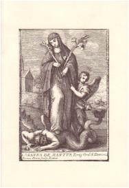 La beata Osanna di Mantova. Una laica domenicana - Fronte